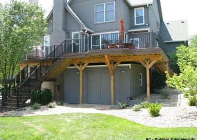Multi-Level Deck in Overland Park, Kansas